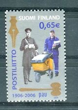 Finlandia /Finland 2006 Centenario sindacato lavoratori postali finlandesi MNH