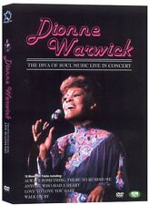 Dionne Warwick DVD - The diva of soul music live in concert (New & Sealed)