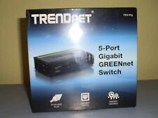 TRENDnet TEG-S5G 5-Port Unmanaged Gigabit GREENnet Desktop Plastic Swith Retail