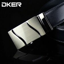 2015 new men's genuine leather belt buckle automatically Korean Fashion A-611
