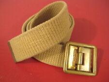 """Vietnam US Army Canvas Uniform Trouser Belt 28"""" Waist for Sateen & Rip Stop"""