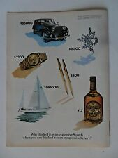 1976 Print Ad Chivas Regal Scotch Whisky ~ The Good Things In Life