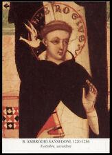 santino-holy card*B.AMBROGIO SANSEDONI DA SIENA
