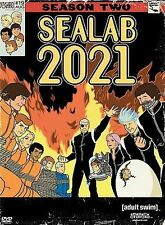 SeaLab 2021 Season Two 2 DVD Set Adult Swim Cartoon Network Hanna-Barbera