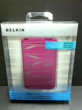 Belkin Silicone Sleeve Case for iPod Classic 80GB/120GB/160GB Pink/Clear NEW