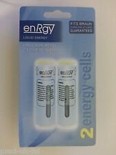 2 x energy cells for ALL Braun CT2 Gas Cordless Stylers (2 x 25ml/14g Butane)