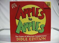 Apples to Apples Bible Edition  -Out of the Box Publishing  -VGC & Complete!!