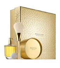 Estee Lauder BEAUTIFUL Gift Set, 75ml EDP Spray & Bulb + 85g Powder + Brush