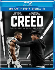 NEW Creed (Rocky, Blu-ray/DVD, 2016, 2-Disc Set, Includes Digital Copy)