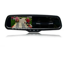 COOLINT Original Car Style 4.3'' Auto dimming Mirror Monitor for Backup Camera