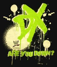 D-GENERATION X med T shirt WWE pro wrestling TRIPLE H tee Are You Down?