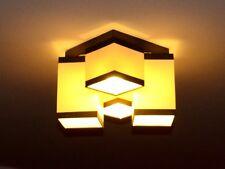 Deckenlampe Deckenleuchte Lampe Leuchte 4 flammig TOP Design Bristol MU4S Streif