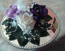 FLOWER WEDDING CAKE TOPPER or TABLE CENTRE PIECE DECORATION