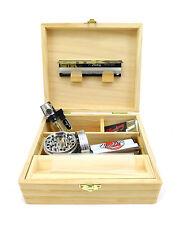 Boîte de rangement bois - Rolling Suprême pr Feuilles Slim Briquet Grinder Tips