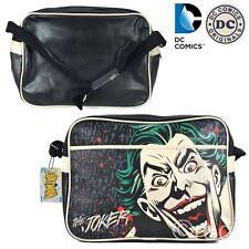New DC Comics Joker Messenger Bag Shoulder Sports Gym School Batman Official