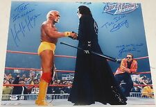 Sting Hulk Hogan Jimmy Hart Signed WWE 16x20 Photo PSA/DNA COA Picture WCW Auto
