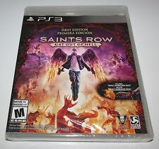 Saints Row: Gat Out of Hell for Playstation 3 Brand New! Factory Sealed!