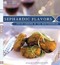 Sephardic Flavors Jewish Cooking of the Mediterranean, Joyce Goldstein New HD.C.