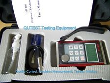 Digital Ultrasonic Thickness Gauge Meter w/ Menu Screen Dual Resolution Al Body