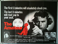 Cinema Poster: AMATEUR, THE 1981 (QUAD) John Savage Christopher Plummer