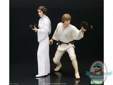Star Wars 1/10 Luke & Leia A New Hope ArtFX + Statue Set Kotobukiya