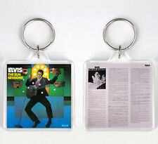 ELVIS PRESLEY THE SUN SESSIONS 1976 LP COVER KEYRING LLAVERO