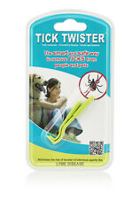 Tick Twister by O'tom - The original - Tick remover -  Pack of 2 hooks
