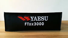 Yaesu FTdx3000 Radio Dust Cover By DXCovers Yaesu Logo Approved FTdx 3000