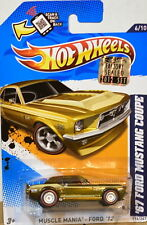 HOT WHEELS 2012 SUPER TREASURE HUNTS '67 FORD MUSTANG COUPE #6/10 FACTORY SEALED