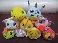 9 Digimon Adventure tri Tsum Bean Bag Soft Plush Toy Agumon Gatomon Patamon etc.