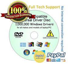 Toshiba Hp Asus Lg controladores update/restore/rescue Discos todos Windows Xp / 8