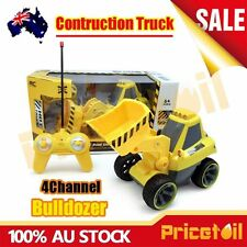 4CH Electric RC Remote Control Construction Truck Bulldozer Kids Toy Xmas Gift