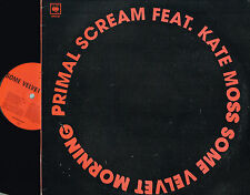 "PRIMAL SCREAM ft KATE MOSS Some Velvet Morning 12"" Vinyl PROMO Columbia XPR3730"