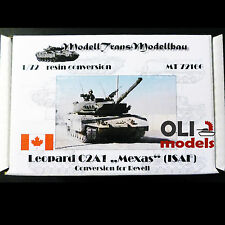 "1/72 Canadian Leopard C2A1 ""Mexas"" ISAF RESIN Conversion Set  Modell Trans 72166"