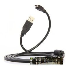 USB Data Sync Cable Lead For Panasonic CAMERA Lumix DMC-ZS15 s/k DMC-ZS10 a
