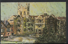 Worcestershire Postcard - Abbey Hotel & Priory Church, Great Malvern MB1557