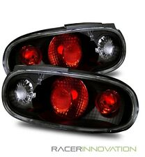 For 90-97 Mazda Miata MX5 Euro Black Altezza Tail Lights Brake Lamps