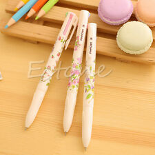 3PCS 4 Colors in 1 Pen Stationery Summer Story Multicolor Ball Point Pens