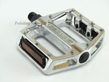 Redline Silver Bicycle Lo-Profile Alloy Platform Bike Pedals 1/2