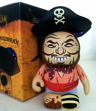 """DISNEY VINYLMATION 3"""" PIRATES OF THE CARIBBEAN 1 DIRTY FOOT MUDDY TOY FIGURINE"""