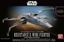 Star Wars Modellbausatz, Resistance X-Wing Fighter, 1/72, Bandai, Force Awakens