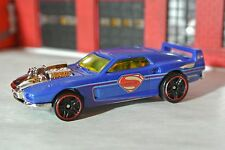 Hot Wheels Batman v Superman - Rivited - Blue - Loose 1:64