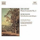 Brahms: Piano Concerto 1; Schumann: Introduction & Allegro, Jeno Jando, Very Goo