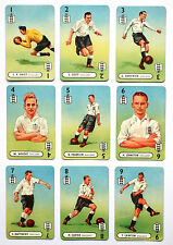 1947 'INTERNATIONAL FOOTBALL WHIST' card game. Pepys. England.