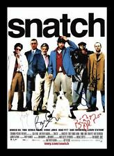 SNATCH CAST AUTOGRAPHED SIGNED & FRAMED PP POSTER PHOTO