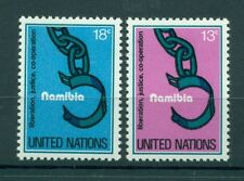 Nations Unies New York 1978 - Michel n. 320/21 - Namibie