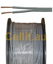 TWIN AUTO CABLE 24AWG FIGURE 8. MULTI USE DC POWER, SPEAKER WIRE 1.6mm 100m REEL