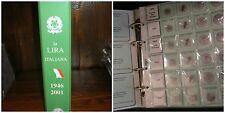 Album / Raccoglitore con Fogli per monete Lira Eco 1946-2001