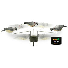 LUCKY DUCK EDGE BY EXPEDITE TRIPLE PLAY MOTION FEEDING DOVE DECOYS