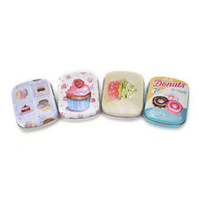 Mini Tin Sealed Jar Packing Boxes Jewelry Candy Box Small Storage Coin Box WL